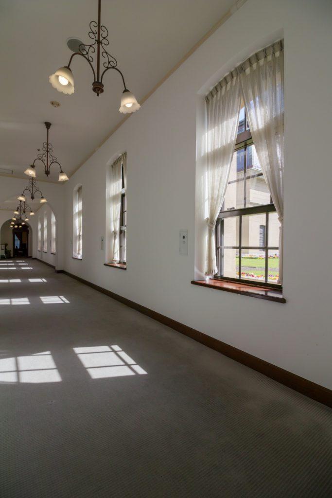 兵庫県公館 迎賓館 内観 廊下