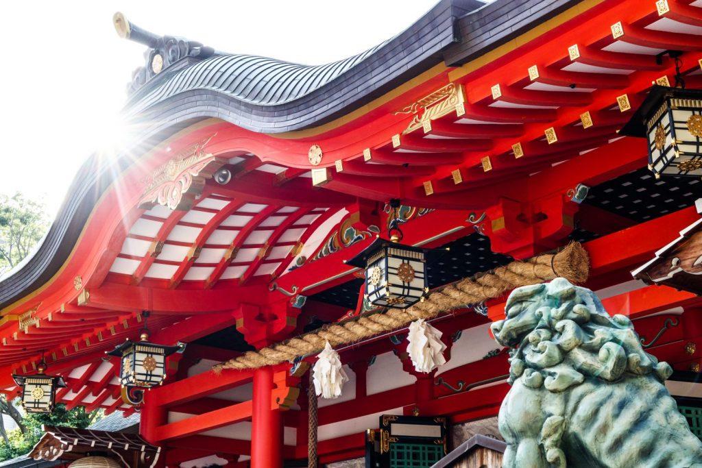 たけさんぽ神戸で生田神社へ