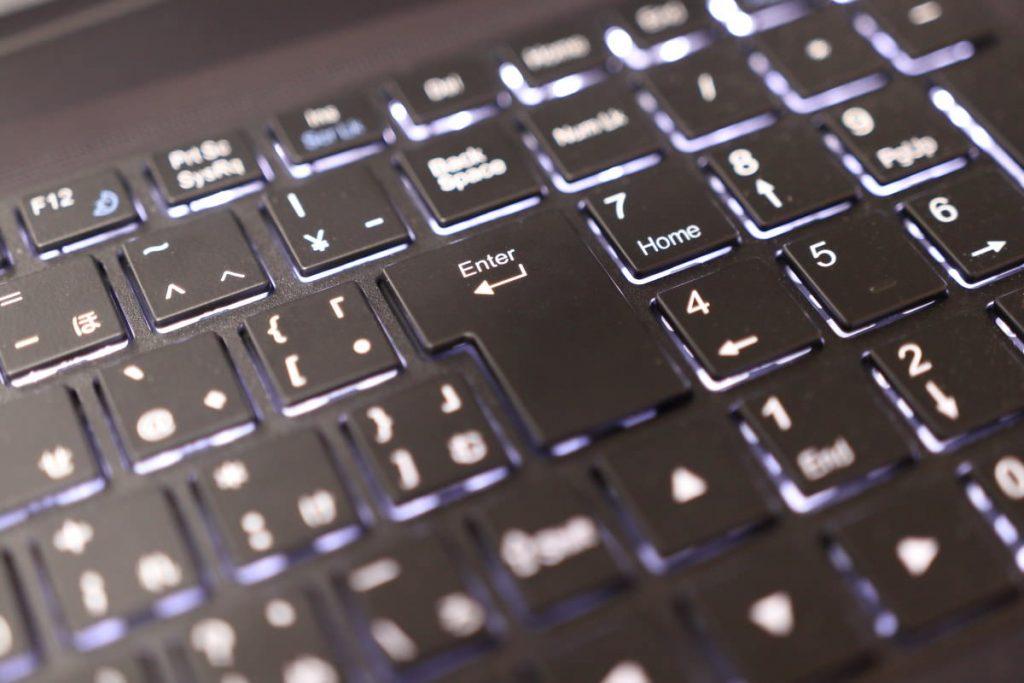 DAIV-NG7500S2-SH5のキーボード