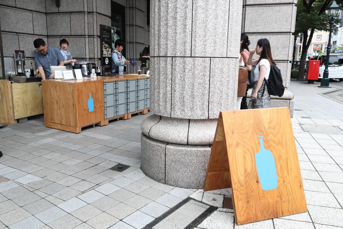 ブルーボトルコーヒー神戸 ポップアップストア