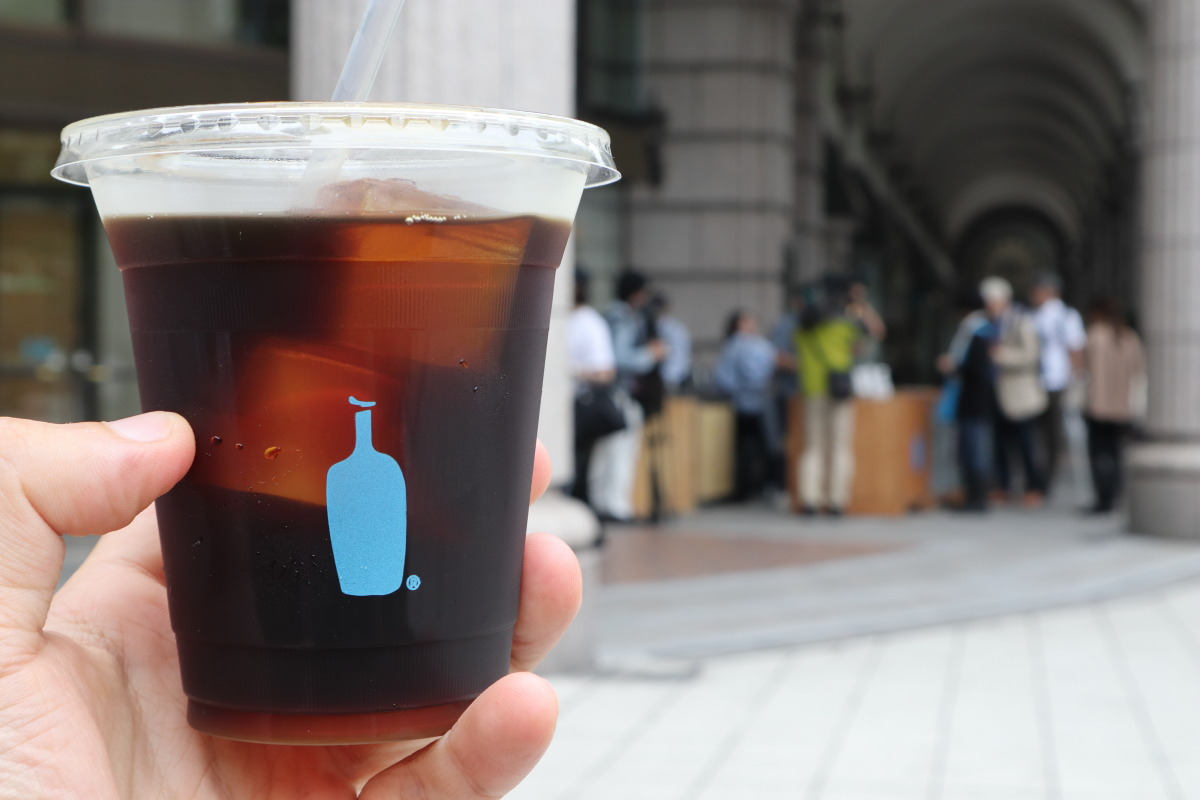 ブルーボトルコーヒー神戸 コールドブリュー