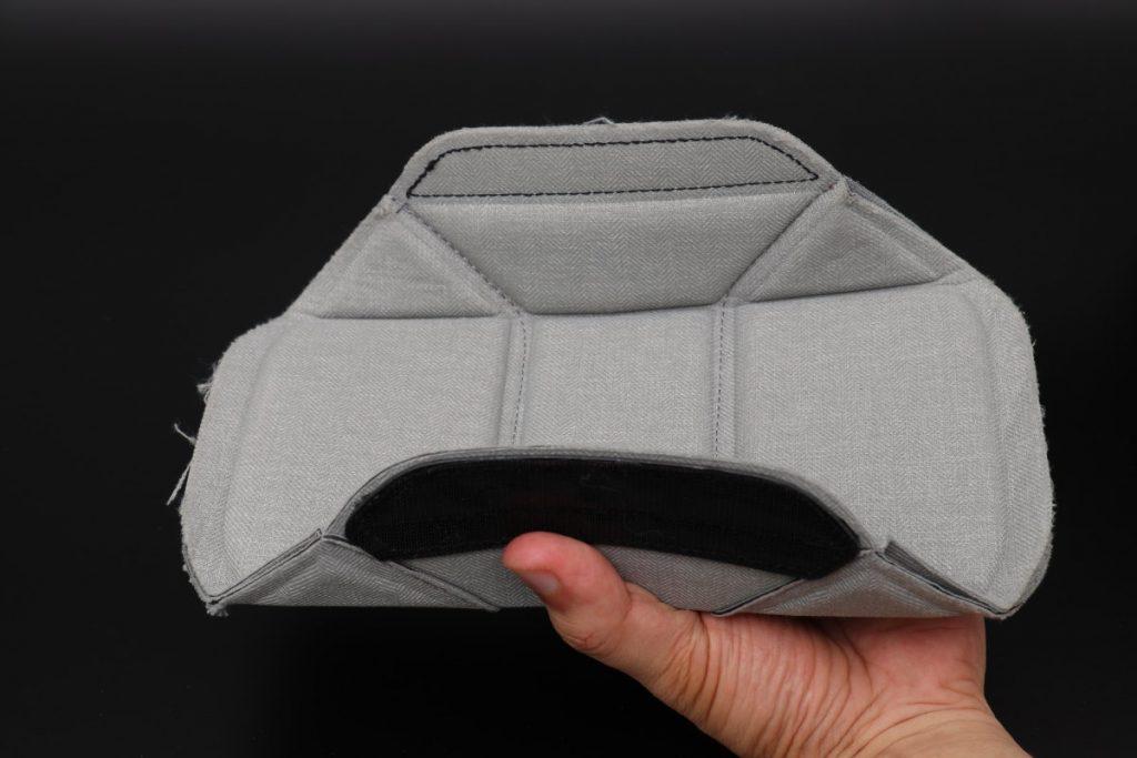 ピークデザインのカメラバッグの仕切り パターンA