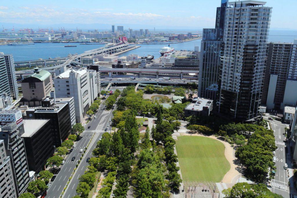 神戸市役所 24階展望ロビー