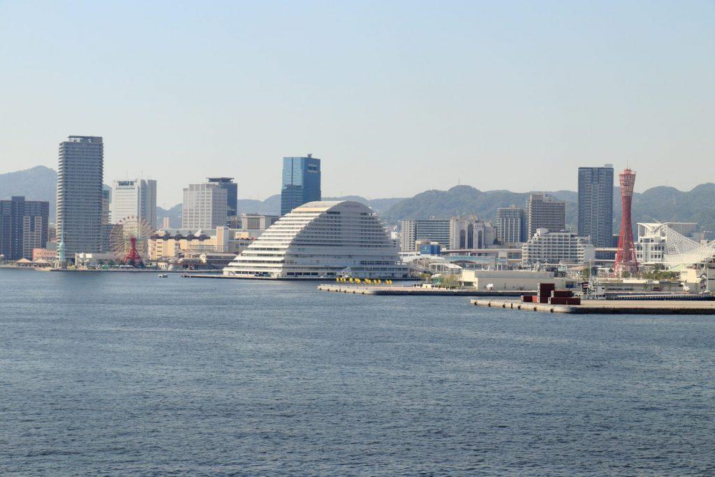 神戸大橋から見た景色