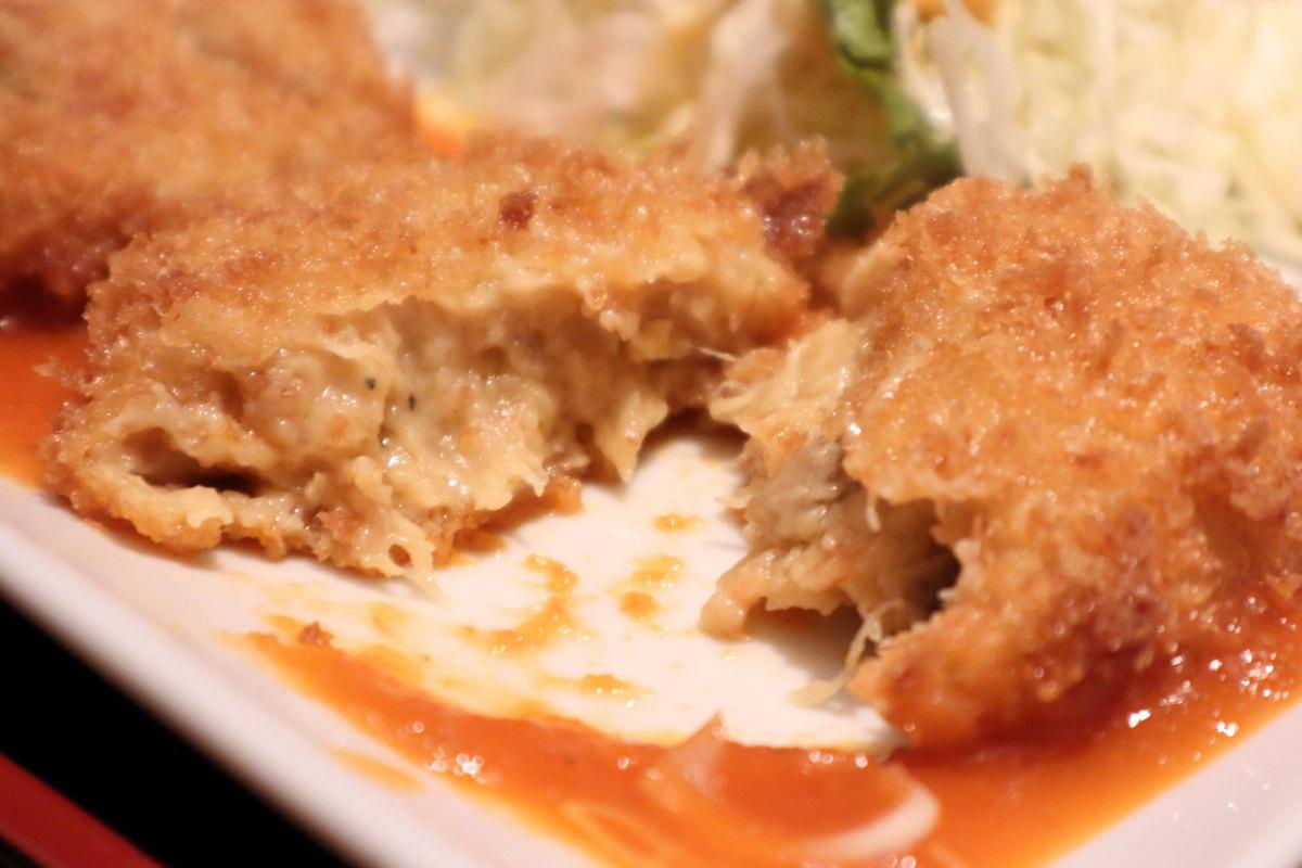 洋食ラミ Lami ランチ カニクリームコロッケ 918円