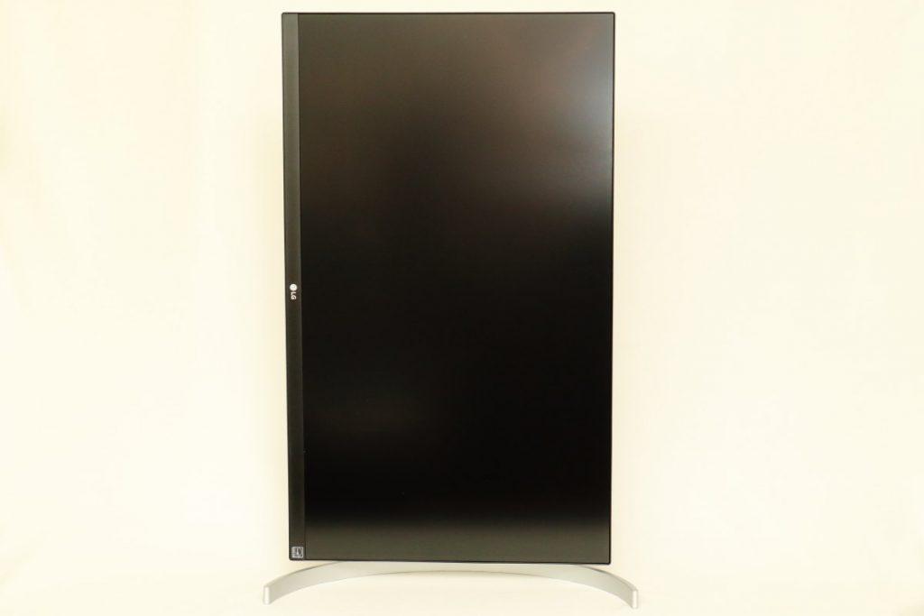 LGの4Kディスプレイ27UK850-W 縦向きポジション