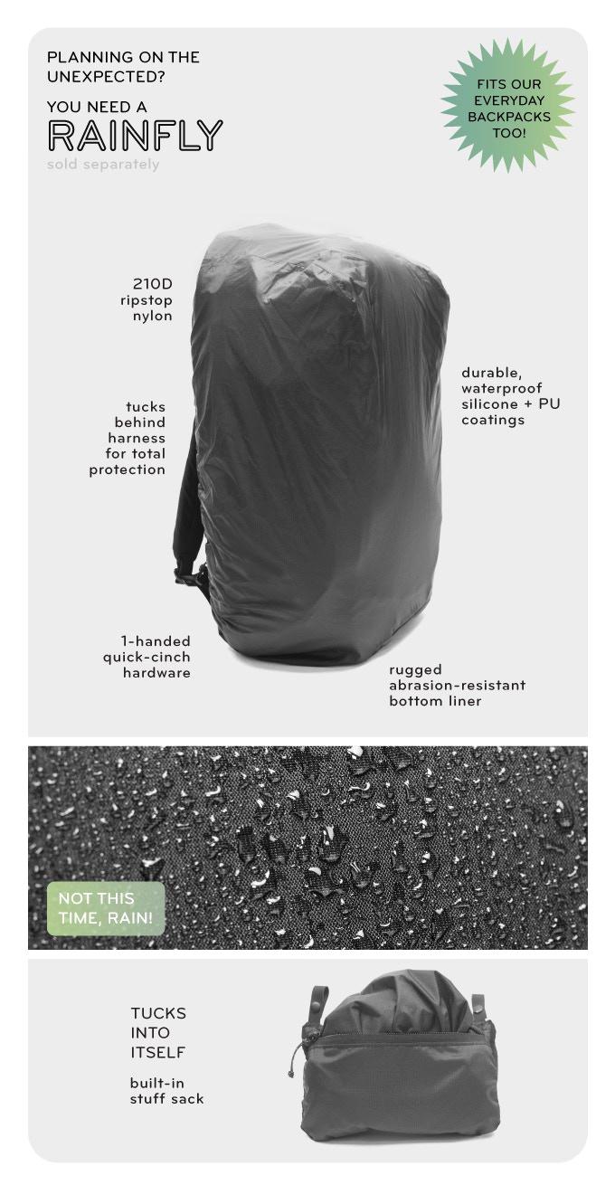 Peak Design Rain Fly ピークデザインのTravel Lineからレインフライ