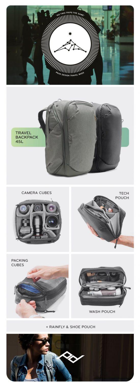 Travel Line 全商品一覧 Peak Design Kickstarter