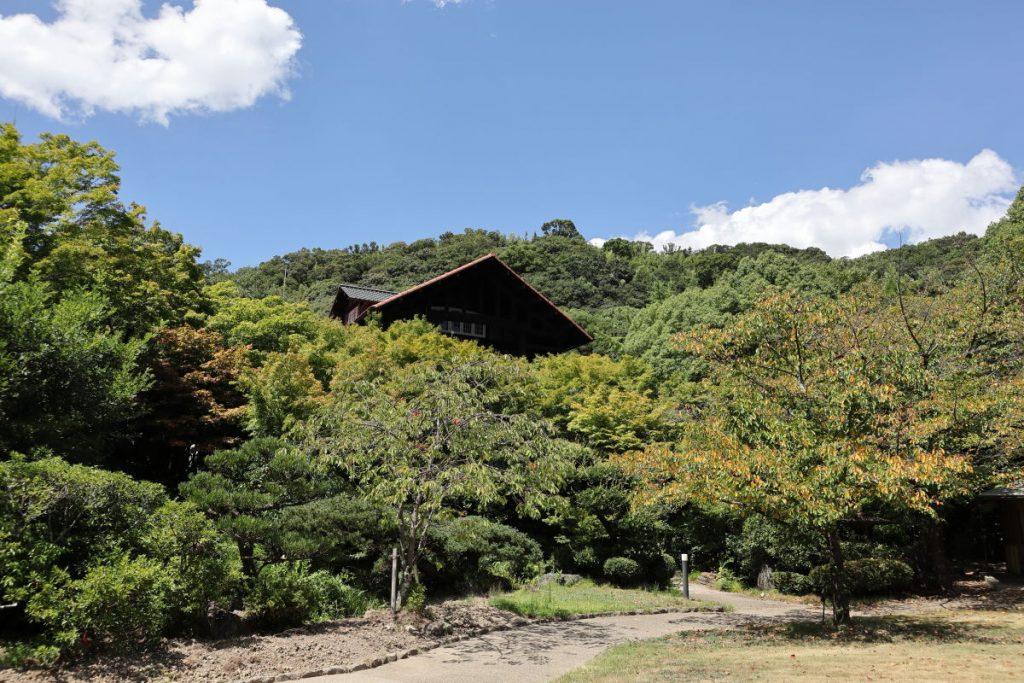 アサヒビール大山崎山荘美術館の庭園