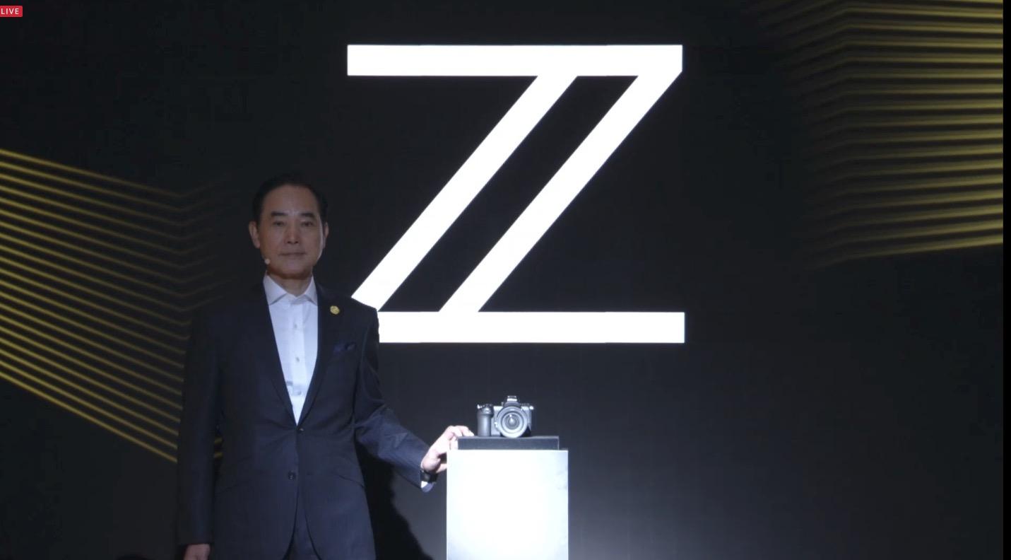 ニコン フルサイズミラーレスカメラのZ7・Z6を発表