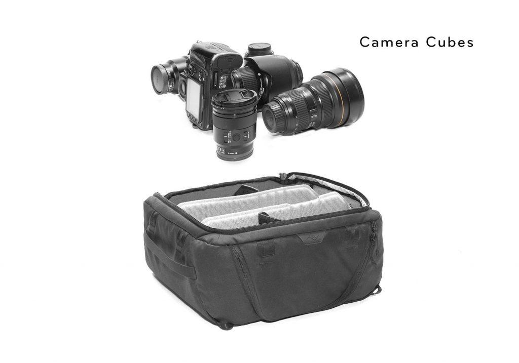 ピークデザインのカメラキューブ