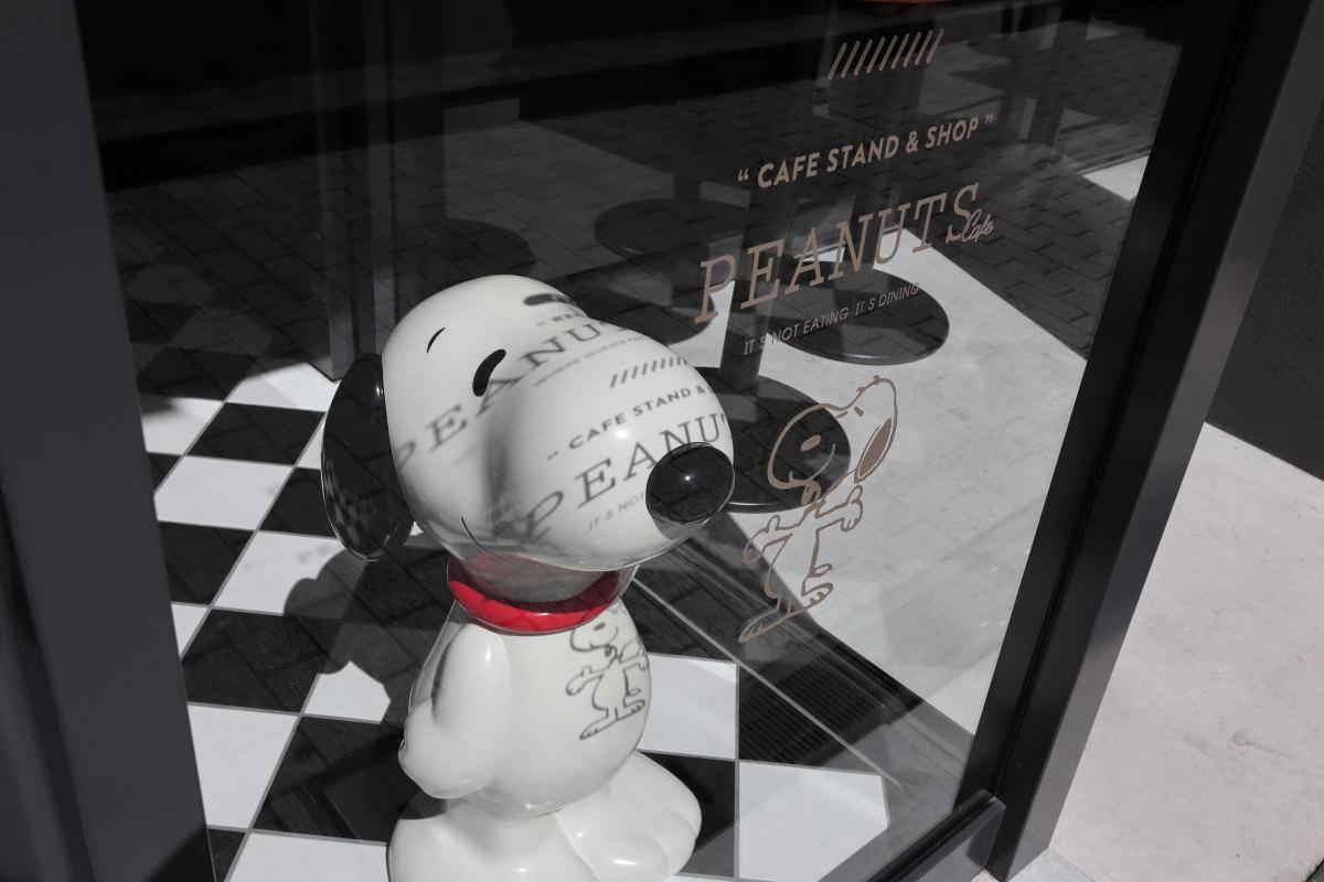 スヌーピーホテルのスヌーピー人形