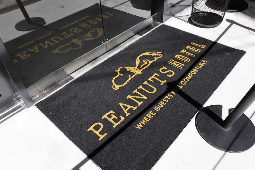 PEANUTS Cafe 神戸はスヌーピーホテルの一階