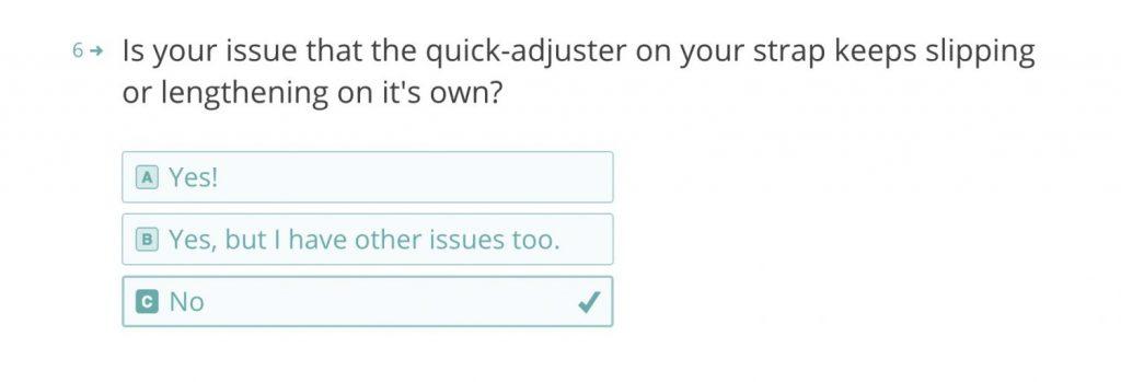 ピークデザインの保証に関する質問 Q6