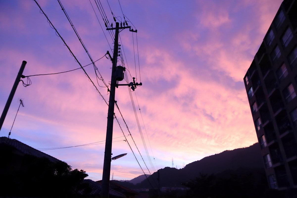 神戸の夕焼け 2018年7月25日