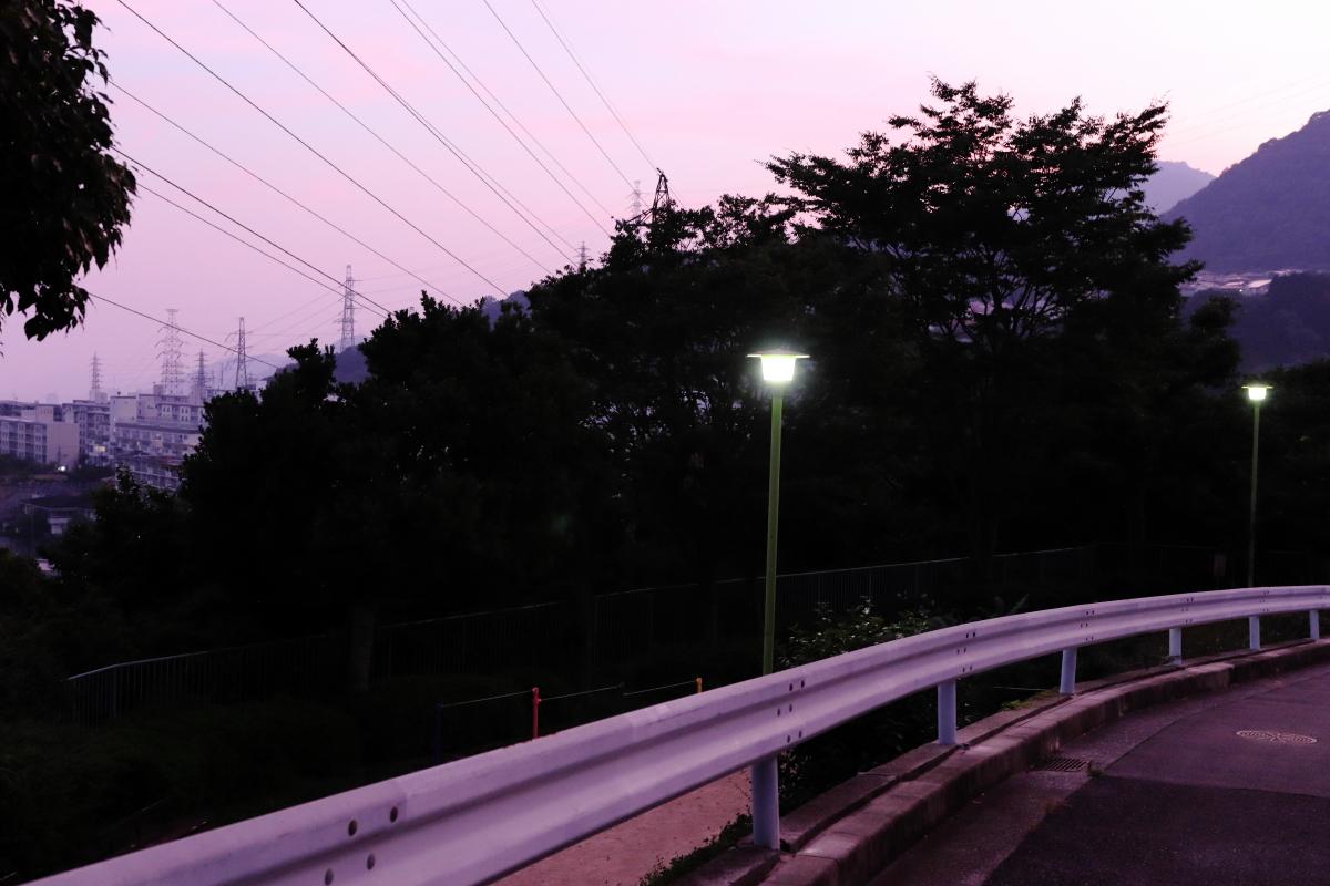 神戸の夕焼け 2018年7月18日