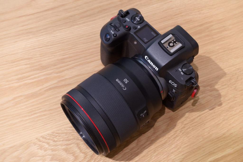 Canon 50mm単焦点レンズ RF 50mm F1.2L USM