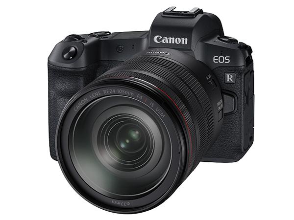 キヤノン EOS R フルサイズミラーレスカメラ