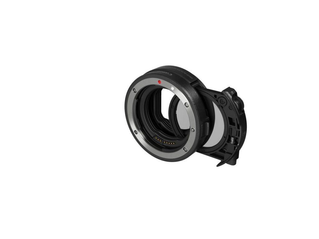 ドロップインフィルター マウントアダプター EF-EOS Rドロップイン円偏光フィルター A付