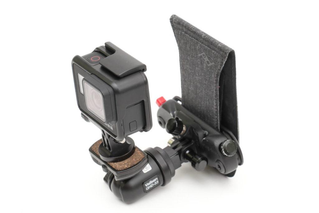 GoProのPOV Kit オリジナルアレンジ カスタマイズバージョン