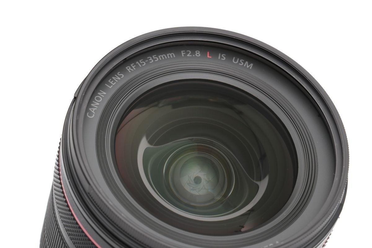 キヤノン 広角レンズ RF15-35mm F2.8 L IS USM