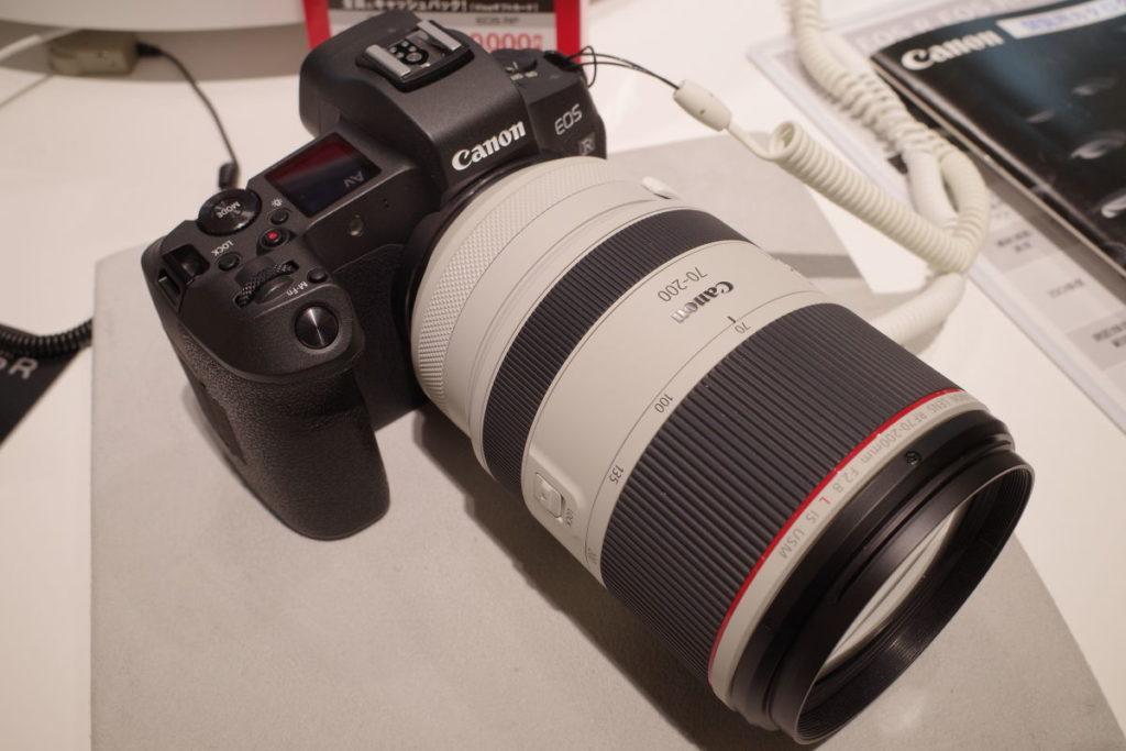 キヤノン用交換レンズ RF70-200mm F2.8 L IS USM