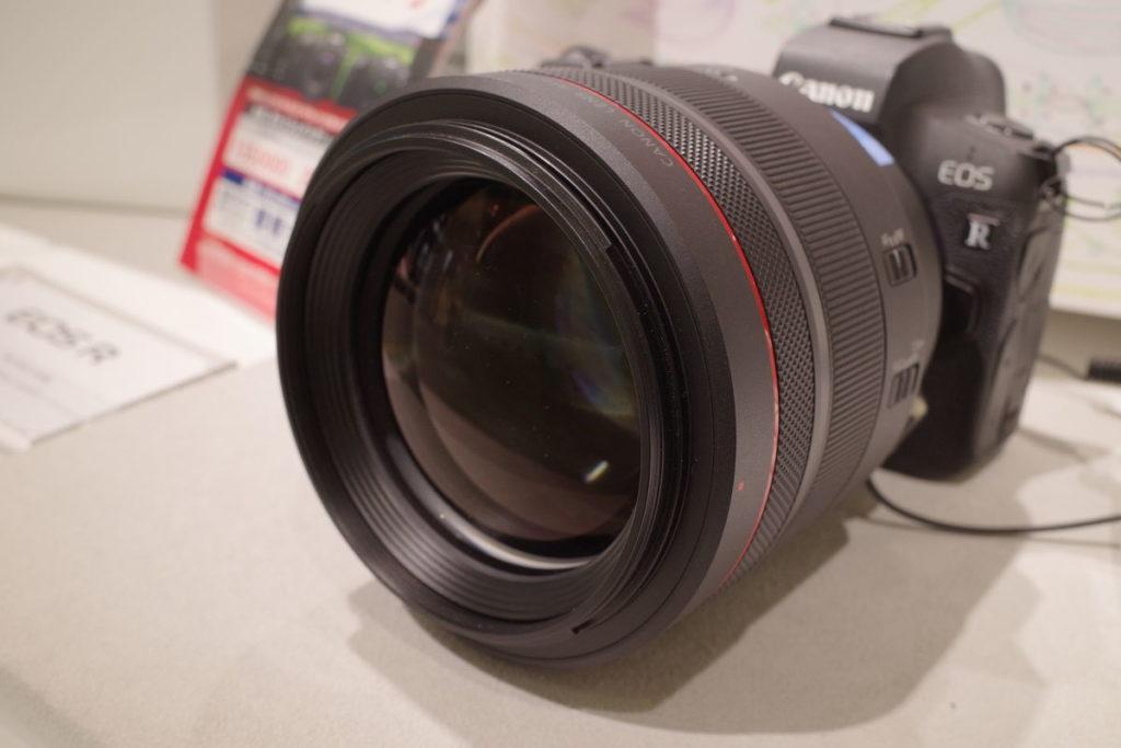キヤノン用交換レンズ RF85mm F1.2 L USM DS