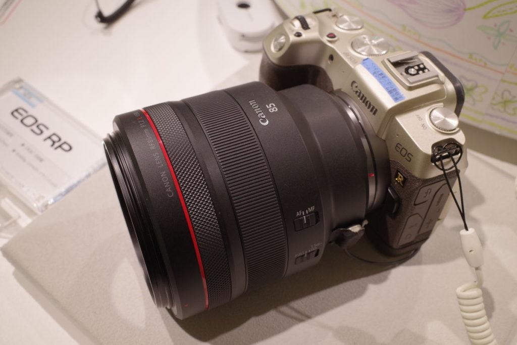 キヤノン用交換レンズ RF85mm F1.2 L USM