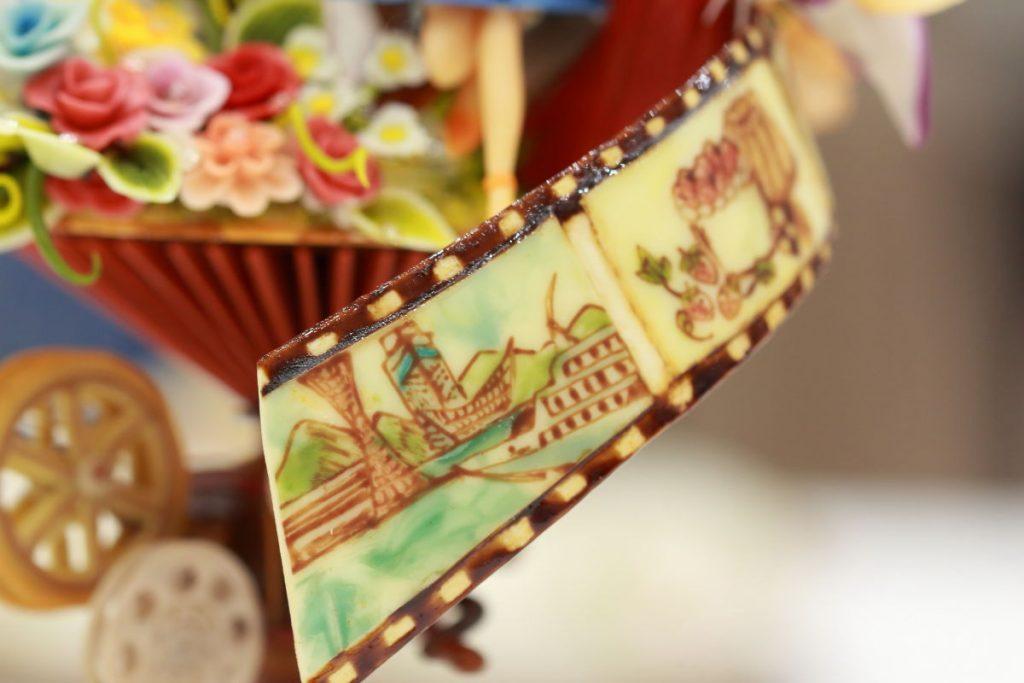 タムロン SP 90mm F2.8 Di MACRO 1:1 VC USD F004E 通称タムキューの作例写真 洋菓子工芸品