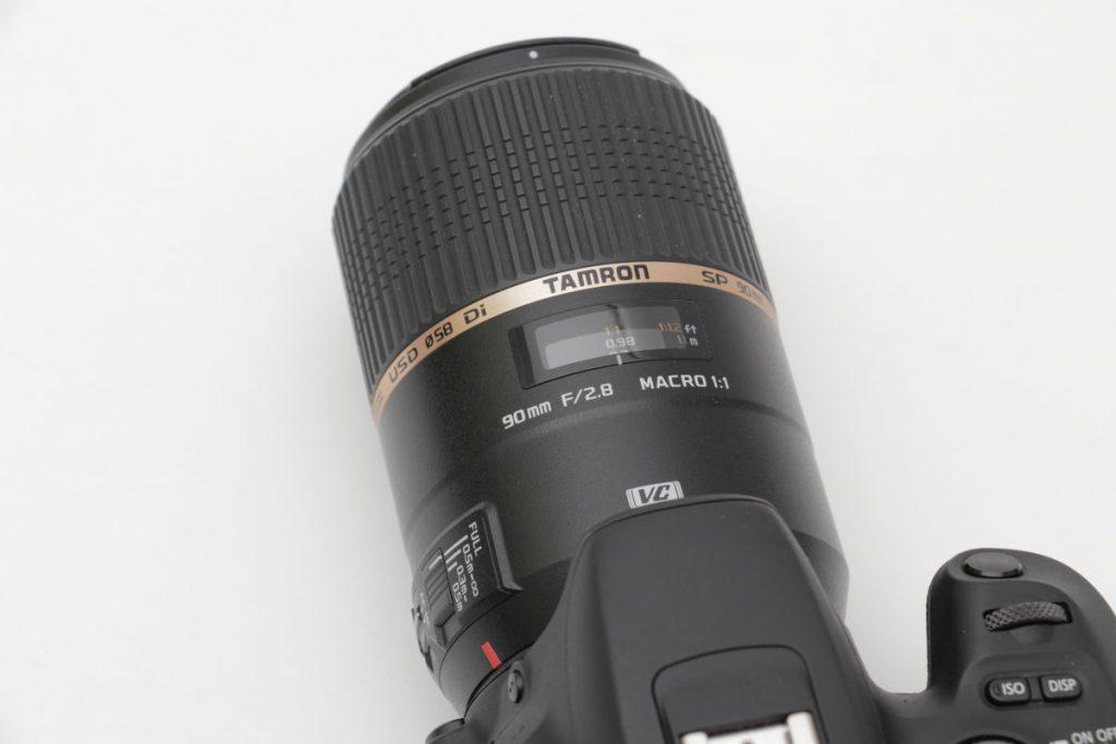タムロン SP 90mm F2.8 Di MACRO 1:1 VC USD F004E 外観