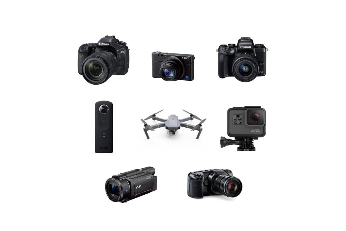 カメラの種類・違いがわからない初心者のための失敗しないカメラ選び
