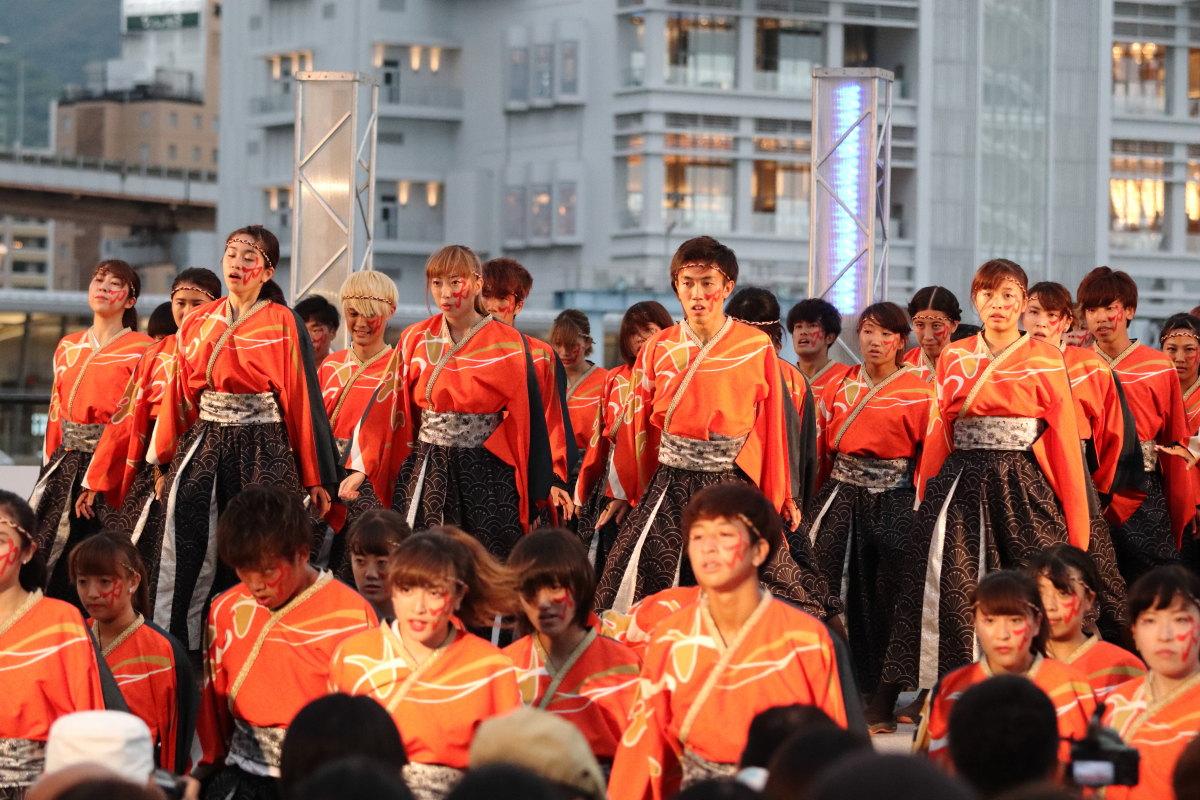 神戸よさこいまつり 2018前夜祭 高浜岸壁
