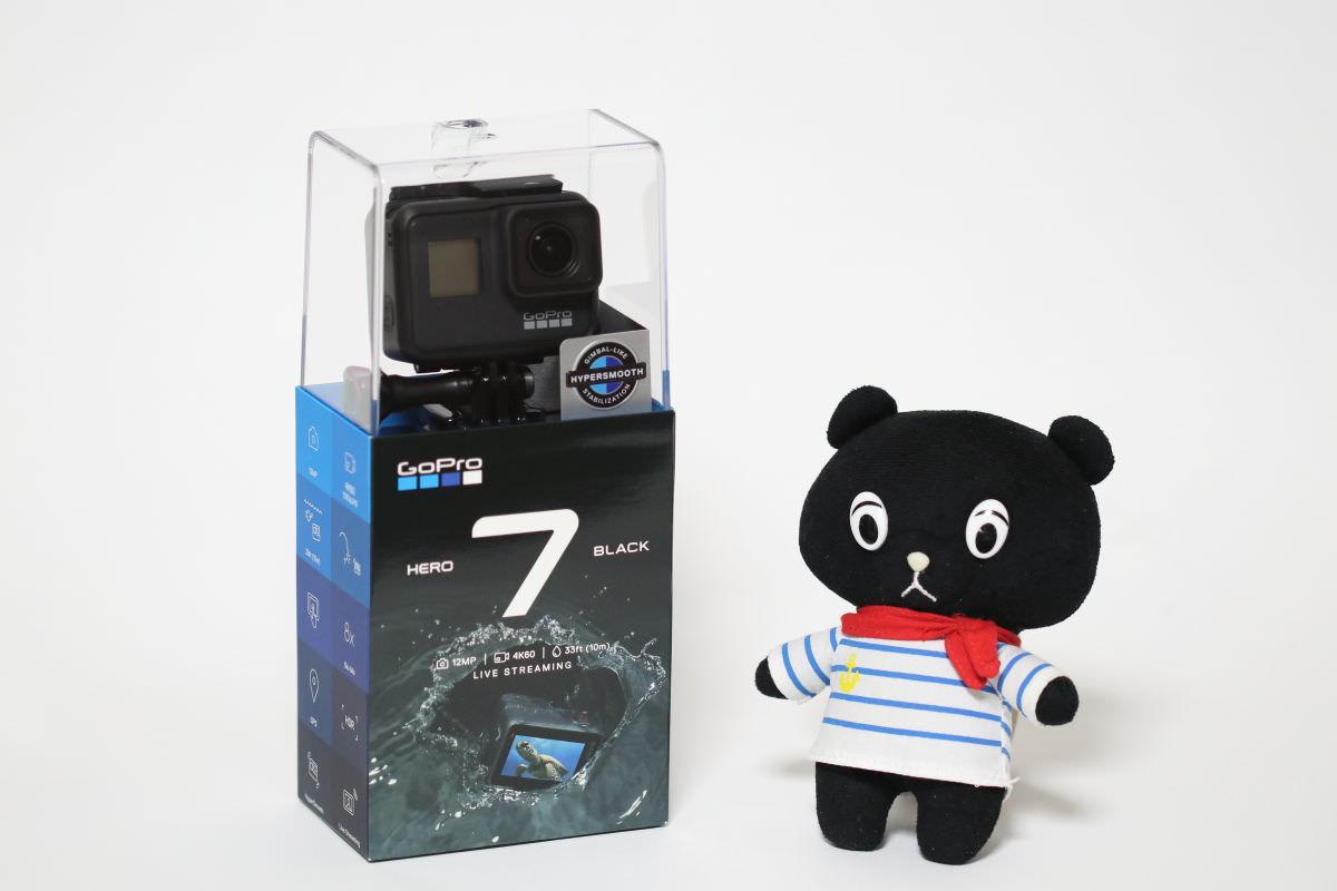 GoPro HERO7 Black第一印象レビュー