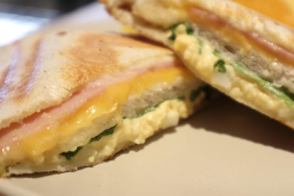 ホットサンド ハム&チーズ ベルヴィル