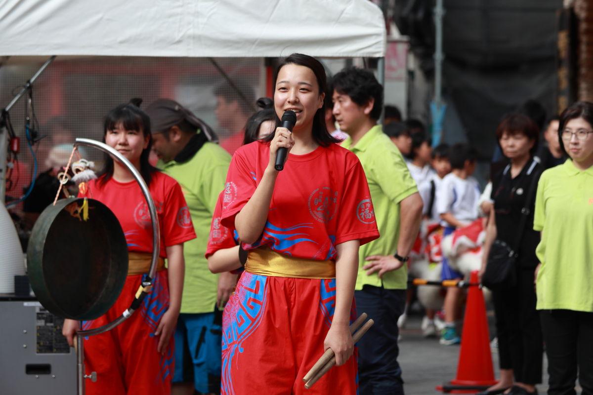 神戸 中華街・南京町 中秋節 獅子舞