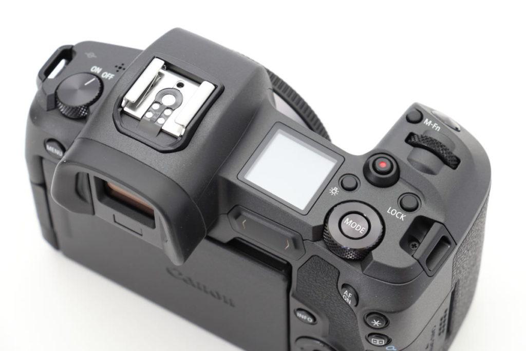 キヤノン フルサイズミラーレス一眼カメラ EOS R 外観