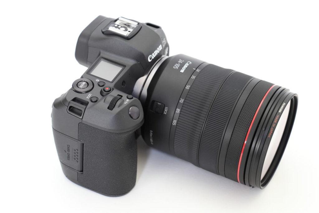 キヤノン フルサイズミラーレス一眼カメラ EOS R 交換レンズ RF24-105mm F4L IS USM 外観
