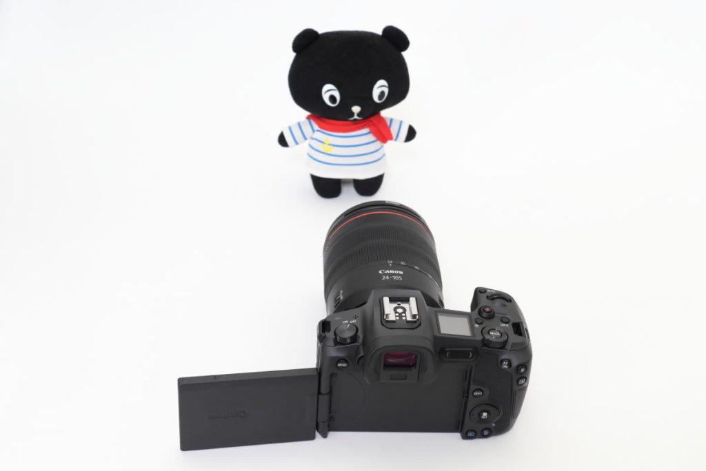 キヤノン フルサイズミラーレス一眼カメラ EOS R 交換レンズ RF24-105mm F4L IS USM 自撮り