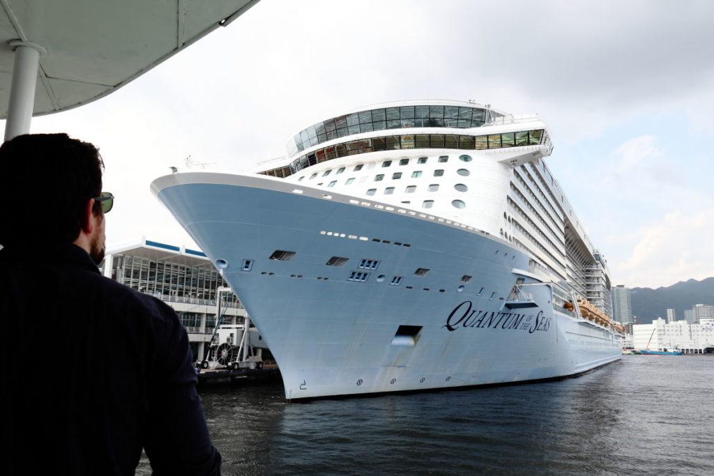 巨大客船 クァンタムオブザシーズ