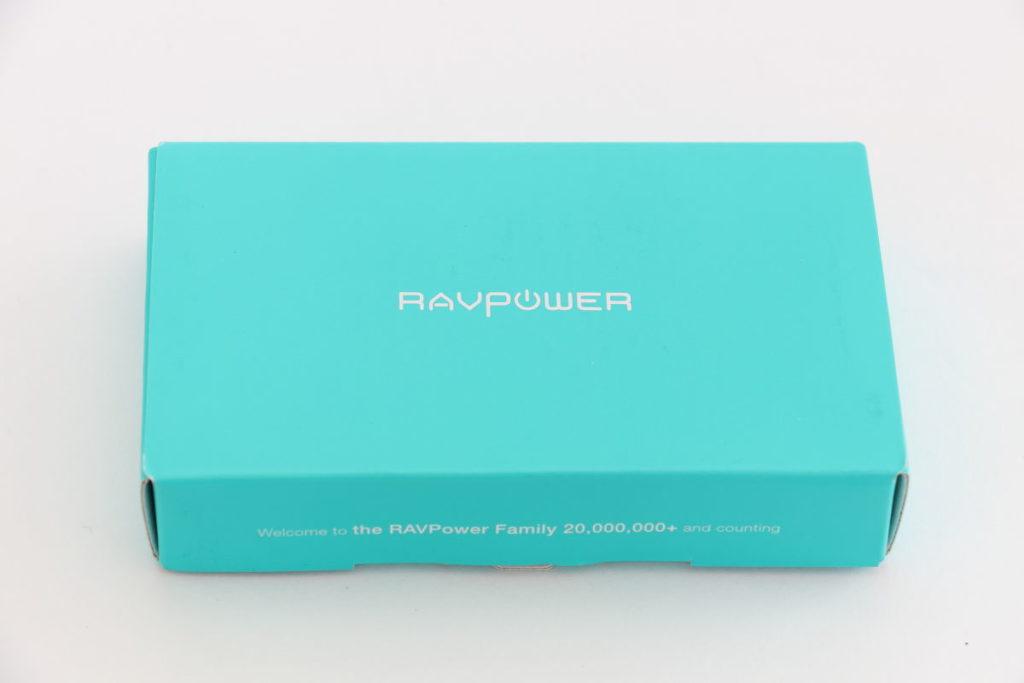 GoPro用互換バッテリーRAVPower RP-PB074パッケージ