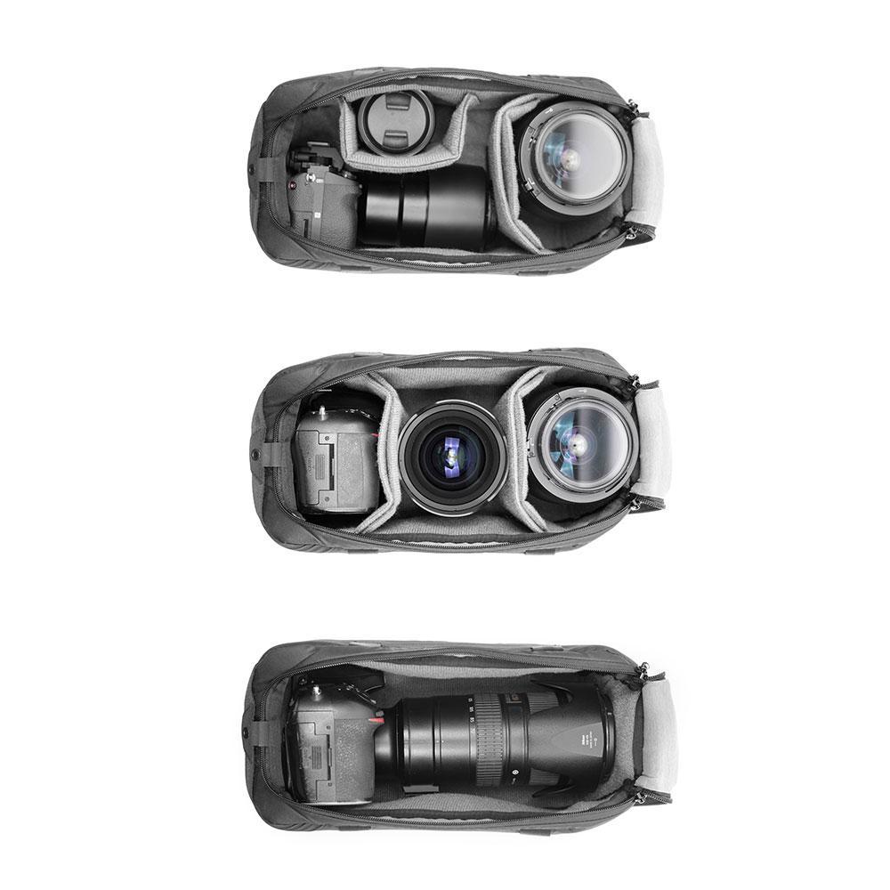 カメラキューブSのパッキング例