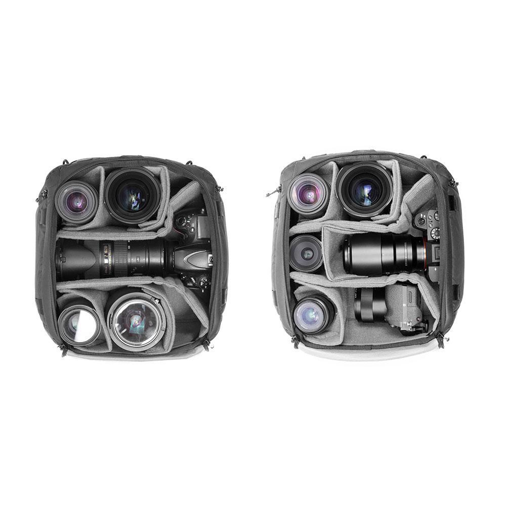 カメラキューブMのパッキング例