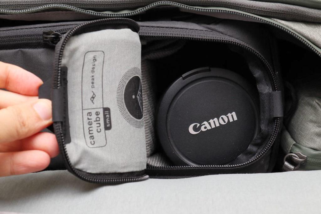 カメラキューブSの開け方