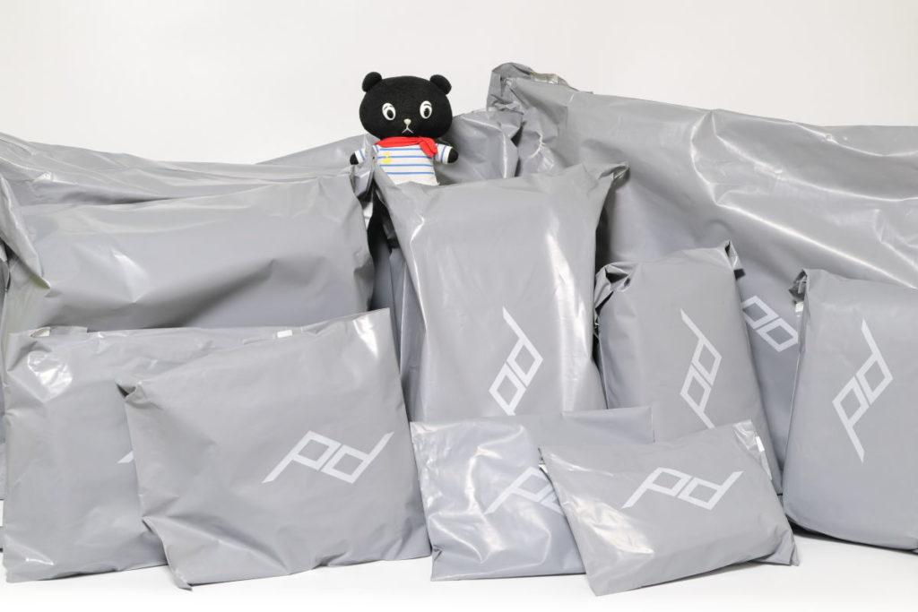 ピークデザインのトラベルラインまとめ買い 袋がたくさん