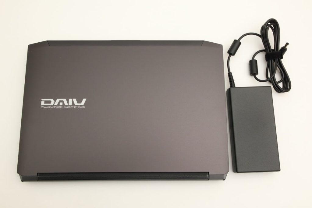 DAIV NG4500本体と電源バッテリー