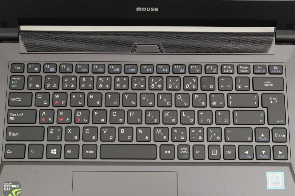 DAIV NG4500 キーボード