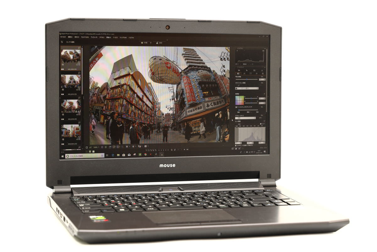 マウスコンピューター 写真編集用パソコン DAIV-NG4500レビュー
