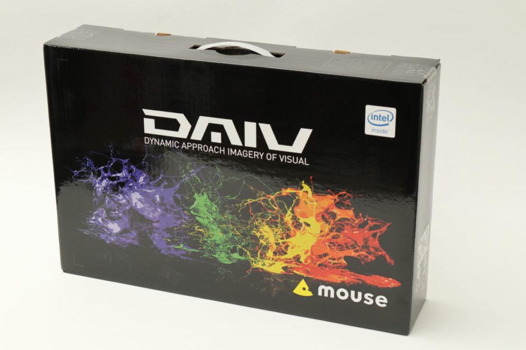 マウスコンピューター DAIV NG5500のパッケージ