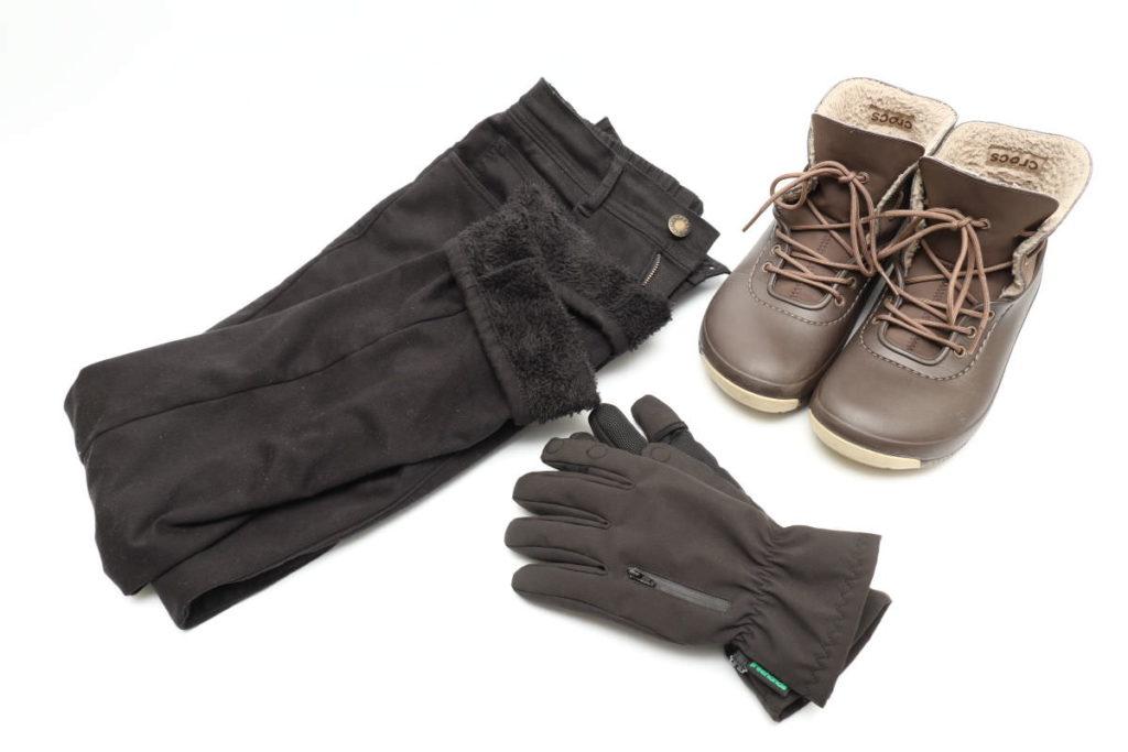 冬の撮影を暖かく過ごすためのフォトグローブと防寒着
