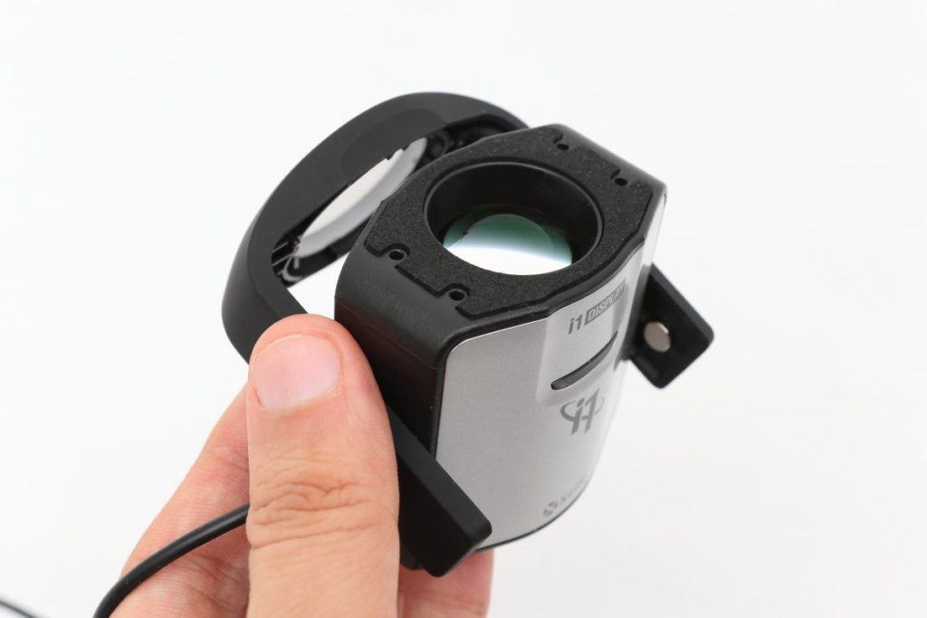 X-Rite i1 Display Pro ディスプレイに取り付けるセンサー